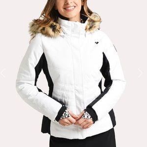 Obermeyer Tuscany Ski Jacket white — size 4 🎿